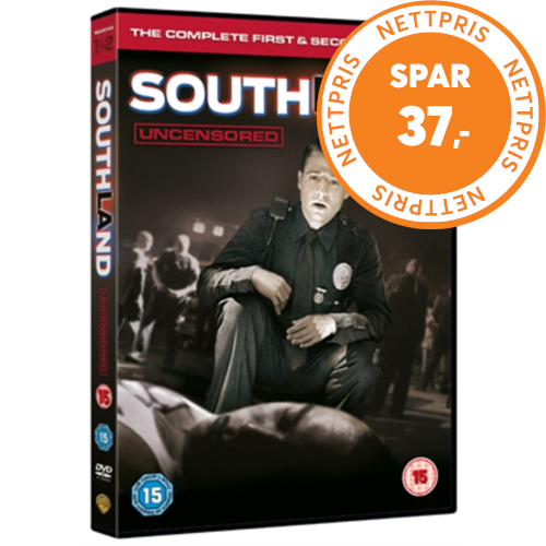 Southland - Sesong 1 & 2 (UK-import) (DVD)