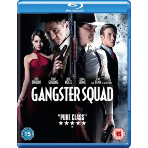 Gangster Squad (UK-import) (BLU-RAY)