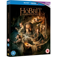 Produktbilde for The Hobbit - The Desolation Of Smaug (UK-import) (BLU-RAY)