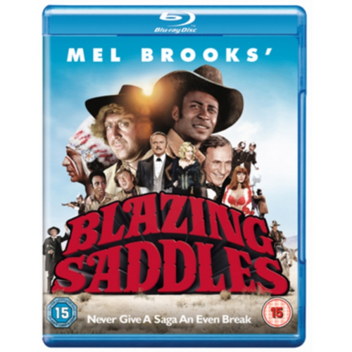 Blazing Saddles (UK-import) (BLU-RAY)