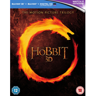 Produktbilde for The Hobbit - The Motion Picture Trilogy (UK-import) (Blu-ray 3D + Blu-ray)