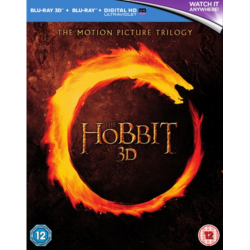 The Hobbit - The Motion Picture Trilogy (UK-import) (Blu-ray 3D + Blu-ray)