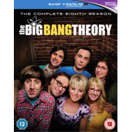 Produktbilde for The Big Bang Theory - Sesong 8 (UK-import) (BLU-RAY)