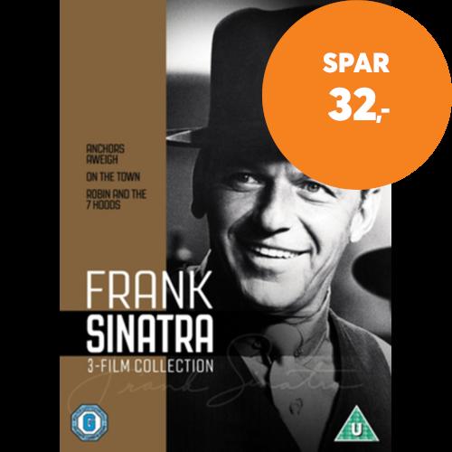 Frank Sinatra 3 Film Collection Uk Import Dvd