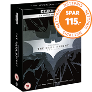 Produktbilde for Batman - The Dark Knight Trilogy (UK-import) (4K Ultra HD + Blu-ray)