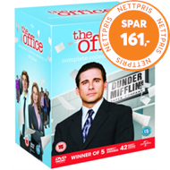 Produktbilde for The Office (USA) - Den Komplette Serien (UK-import) (DVD)