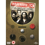 Produktbilde for Warehouse 13 - The Complete Series (UK-import) (DVD)