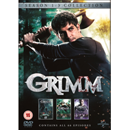 Produktbilde for Grimm - Sesong  1 - 3 (UK-import) (DVD)