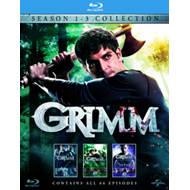 Produktbilde for Grimm - Sesong  1 - 3 (UK-import) (BLU-RAY)