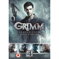 Produktbilde for Grimm - Sesong 4 (UK-import) (DVD)