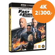 Produktbilde for Fast & Furious (2019): Hobbs & Shaw (4K Ultra HD + Blu-ray)