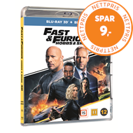 Produktbilde for Fast & Furious (2019): Hobbs & Shaw (Blu-ray 3D + Blu-ray)