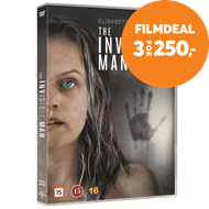 Produktbilde for The Invisible Man (2020) / Den Usynlige Mann (DVD)