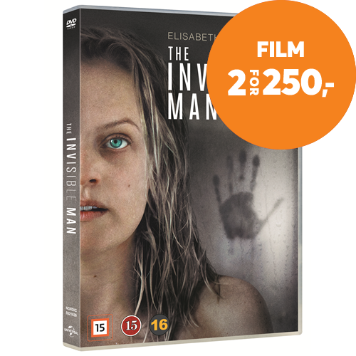 The Invisible Man (2020) / Den Usynlige Mann (DVD)