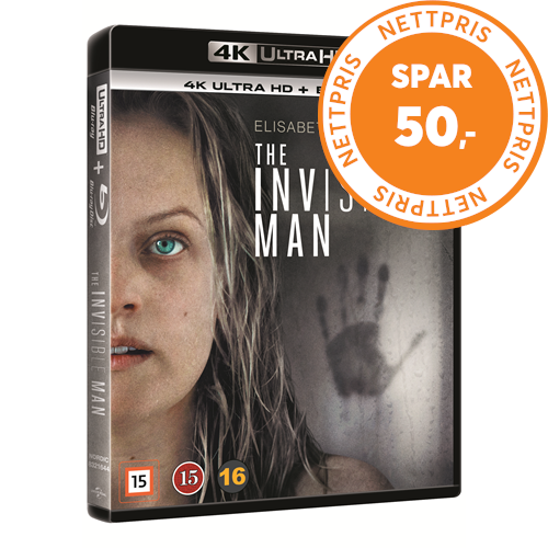 The Invisible Man (2020) / Den Usynlige Mann (DK-import) (4K Ultra HD + Blu-ray)