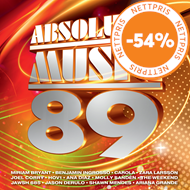 Produktbilde for Absolute Music 89 (Sverige) (2CD)