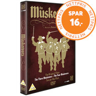 Produktbilde for The Musketeers Collection (UK-import) (DVD)