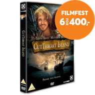 Produktbilde for Cutthroat Island (1995) (UK-import) (DVD)