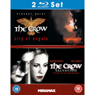Produktbilde for The Crow: City Of Angels / The Crow: Salvation (UK-import) (BLU-RAY)