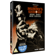Produktbilde for The Mummy's Shroud (UK-import) (Blu-ray + DVD)