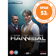 Produktbilde for Hannibal - Sesong 1 - 3 (UK-import) (DVD)