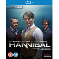 Produktbilde for Hannibal - Sesong 1-3: The Complete Series (UK-import) (BLU-RAY)