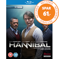 Produktbilde for Hannibal - Sesong 1-3 (UK-import) (BLU-RAY)