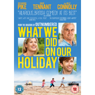 Produktbilde for What We Did On Our Holiday (UK-import) (DVD)