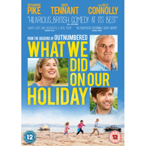 What We Did On Our Holiday (UK-import) (DVD)