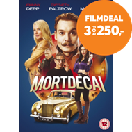 Produktbilde for Mortdecai (UK-import) (DVD)