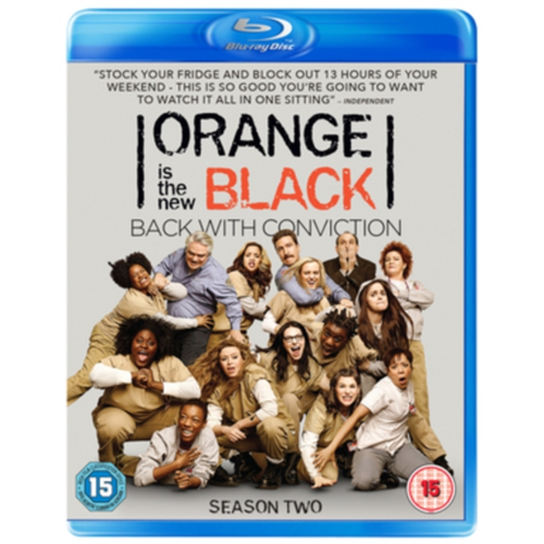 Orange Is The New Black - Sesong 2 (UK-import) (BLU-RAY)