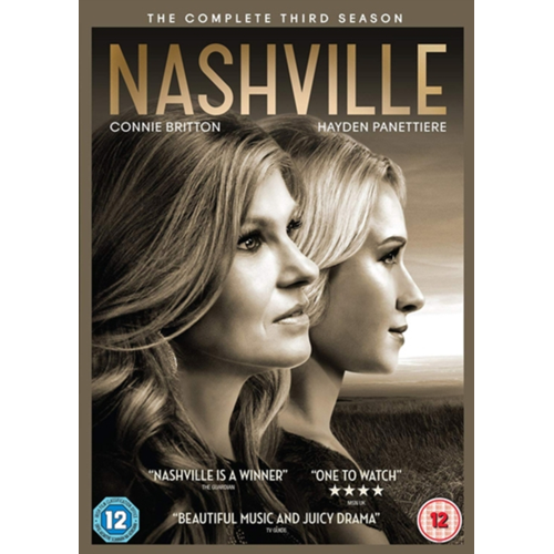 Nashville - Sesong 3 (UK-import) (DVD)