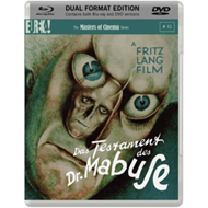 Produktbilde for The Testament of Dr Mabuse - The Masters of Cinema Series (UK-import) (Blu-ray + DVD)