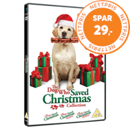 Produktbilde for The Dog Who Saved Christmas Collection (UK-import) (DVD)
