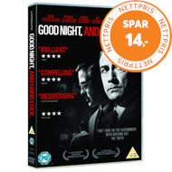 Produktbilde for Good Night, And Good Luck (UK-import) (DVD)