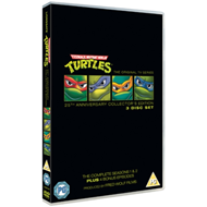 Produktbilde for Teenage Mutant Ninja Turtles - 25th Anniversary Edition (UK-import) (DVD)