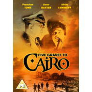 Produktbilde for Five Graves To Cairo (UK-import) (DVD)