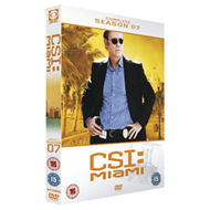 Produktbilde for C.S.I - Miami - Sesong 7 (UK-import) (DVD)