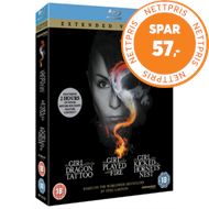 Produktbilde for The Girl Who... Millennium Trilogy - Extended Versions (UK-import) (BLU-RAY)