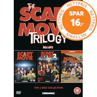 Produktbilde for The Scary Movie Trilogy (UK-import) (DVD)
