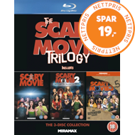Produktbilde for The Scary Movie Trilogy (UK-import) (BLU-RAY)