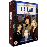 Produktbilde for L.A. Law - Sesong 3 (UK-import) (DVD)