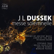 Produktbilde for Dussek: Messe Solemnelle (CD)
