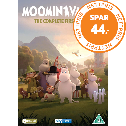Moominvalley (Mummitrollet) - Sesong 1 (UK-import) (DVD)