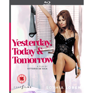 Produktbilde for Yesterday, Today And Tomorrow (UK-import) (BLU-RAY)