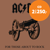 Produktbilde for For Those About To Rock We Salute You (Remastered) (CD)
