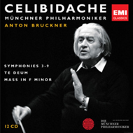 Produktbilde for Bruckner: Symphonies 3-8, Te Deum & Mass In F Minor - Limited Edition (UK-import) (CD)