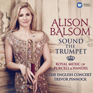 Produktbilde for Alison Balsom - Sound The Trumpet: Royal Music Of Purcell & Handel (CD)