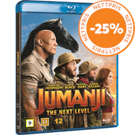 Produktbilde for Jumanji 2: The Next Level (BLU-RAY)