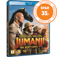 Produktbilde for Jumanji (2019): The Next Level (BLU-RAY)